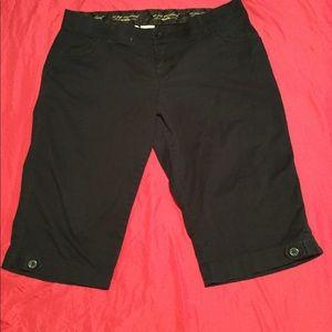 Lee No Gap Waistband Shorts Women  Size 18w Medium